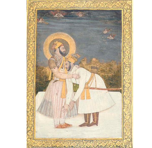 aurangzeb-taking-shah-jahan-blessing