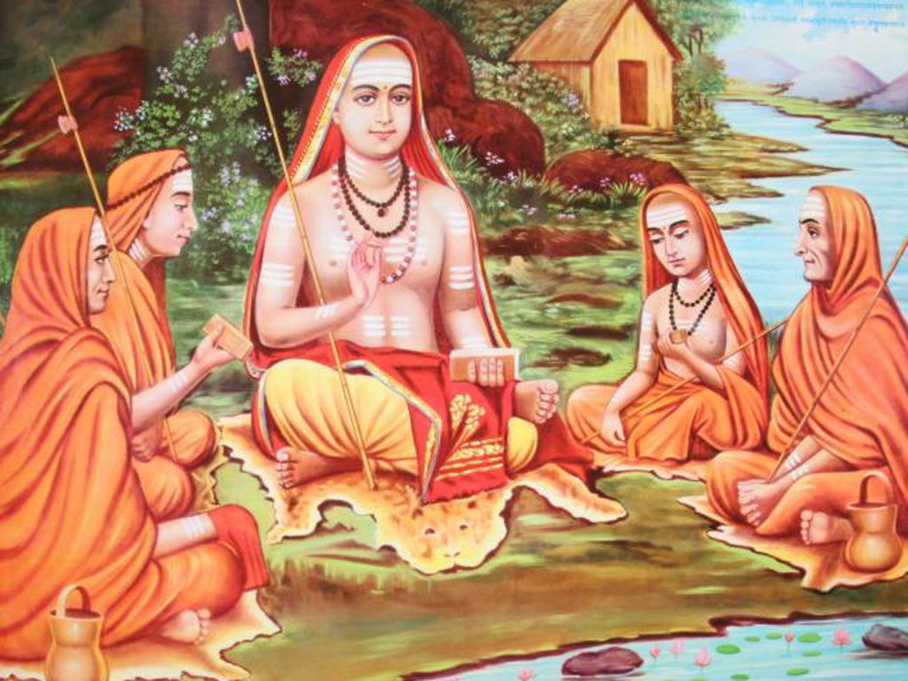adi-shankaracharya-with-his-disciples
