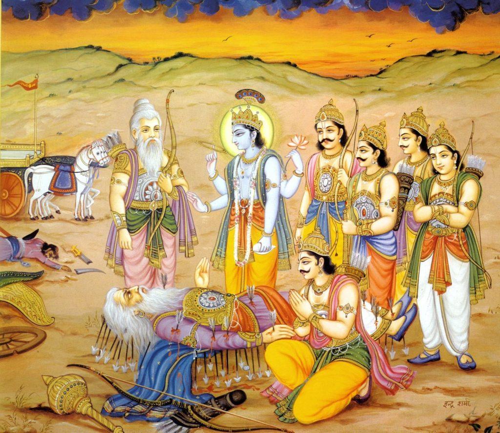 bhishma-Arrowbed